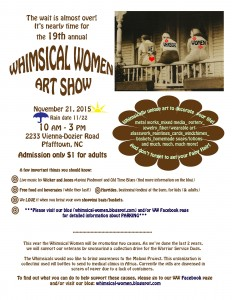 2015 Whimsical Women Flyer